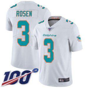 Dolphins Josh Rosen 100th Season Jersey 1